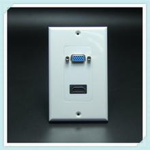 chinese factory price rj45 coupler wall plate Hotel Socket Outlet