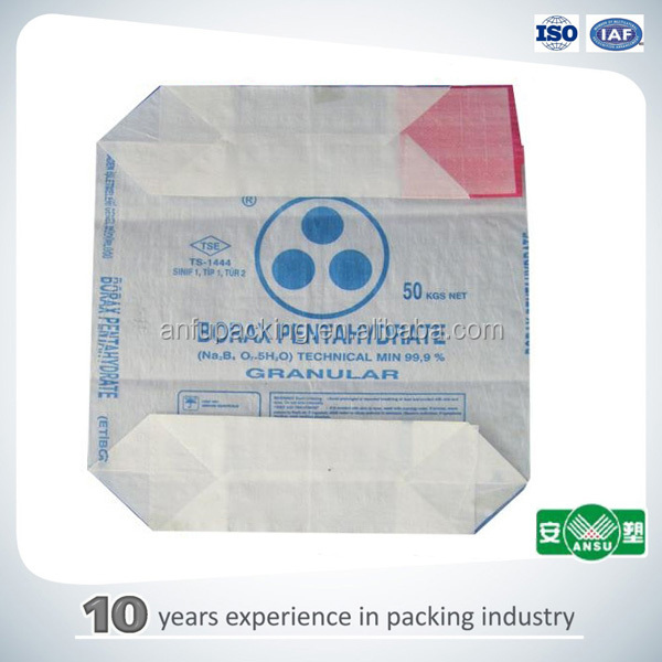durable cement package bag for packing 50kg cement