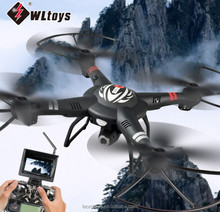 WL Q303 FPV RTF 2.4Ghz(5.8Ghz) big size rc drone with HD camera (with monitor)