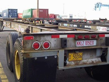 Used 40 foot gooseneck chassis trailers (Large Selection)