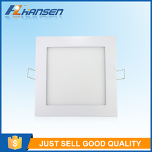Square 6w 8w 12w 15w 18w 20w 25w book reading panel led light IP40 4.5inch CE ROHS approved
