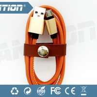 Top Wholesale Pu Leather Usb Cable