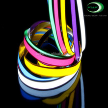 High brightness LED flexible strip light/el tape el light tape with multi size and colors