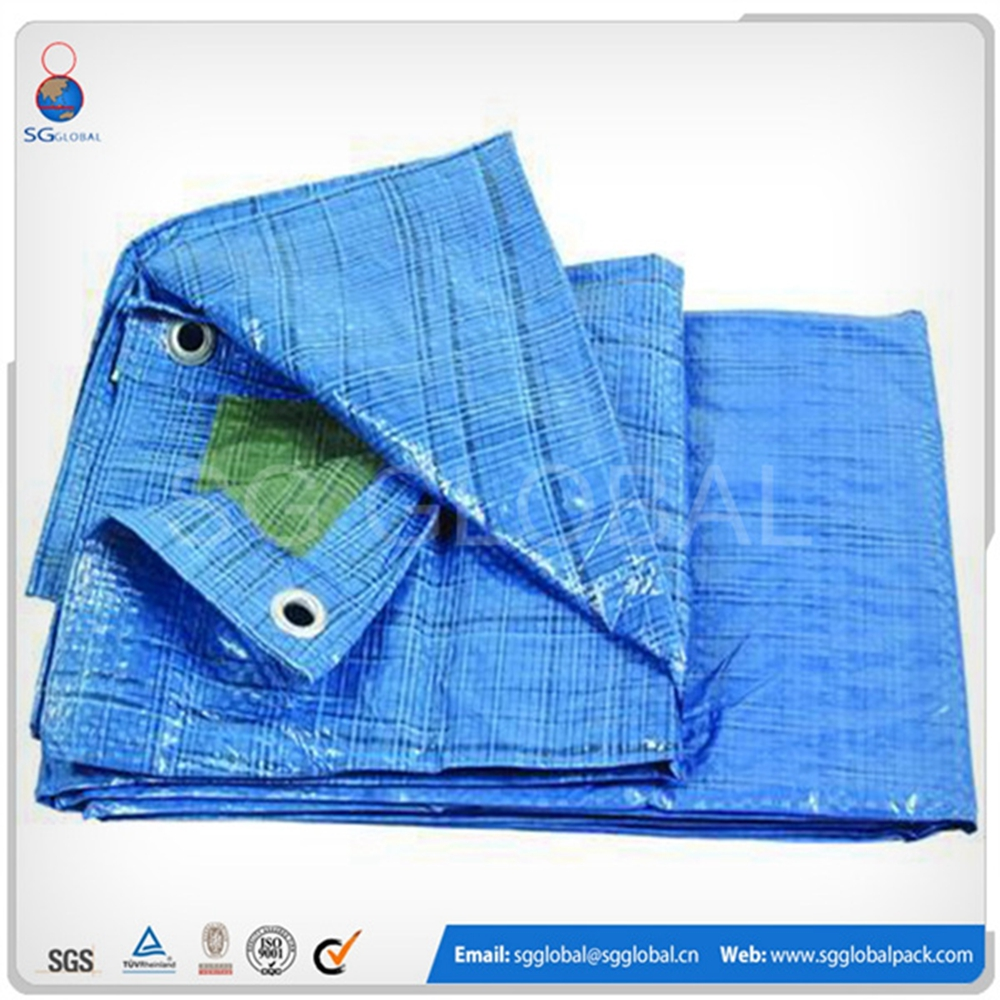 Factory supply disposable poly fireproof canvas tarp