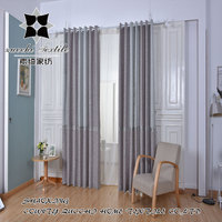 yarn dyed woven jacquard linen curtains and drapes panel