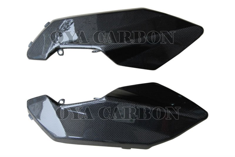 Carbon fiber motorcycle Side Panels Under the Tank for Aprilia Shiver 2009-2010