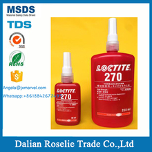 henkel locktite loctite 270 threadlocker threadlocking adhesive - high strength permanent locking curing red glue 50 ml 250 ml
