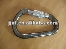 Firefighter safety steel hook with zinc coat