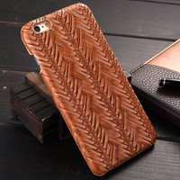Drop Shipping Cheap Price Case for IPhone 6, for IPhone 6 Case Woven Pattern, for iPhone 6s Cover Case