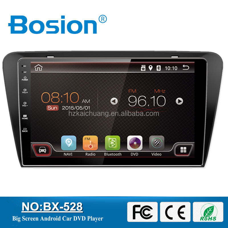 10.1Inch Android 2Din Touch Screen Car DVD Player for Skoda Octavia Car Radio Navigation with Wifi and OBD