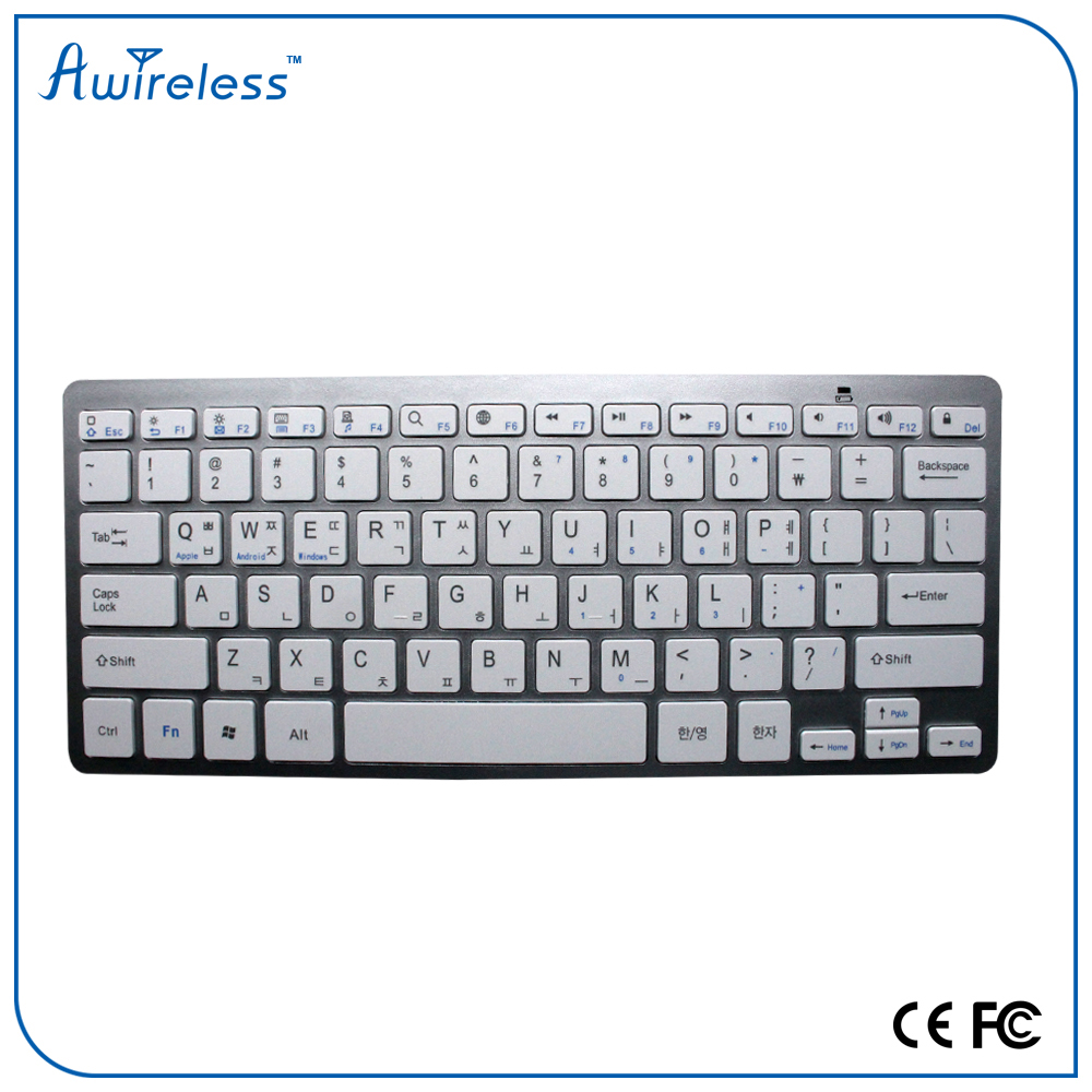 new arrival new design Mobile phone wireless BK3001with 3 system bluetooth keyboard for samsung galaxy mega 6.3/5.8