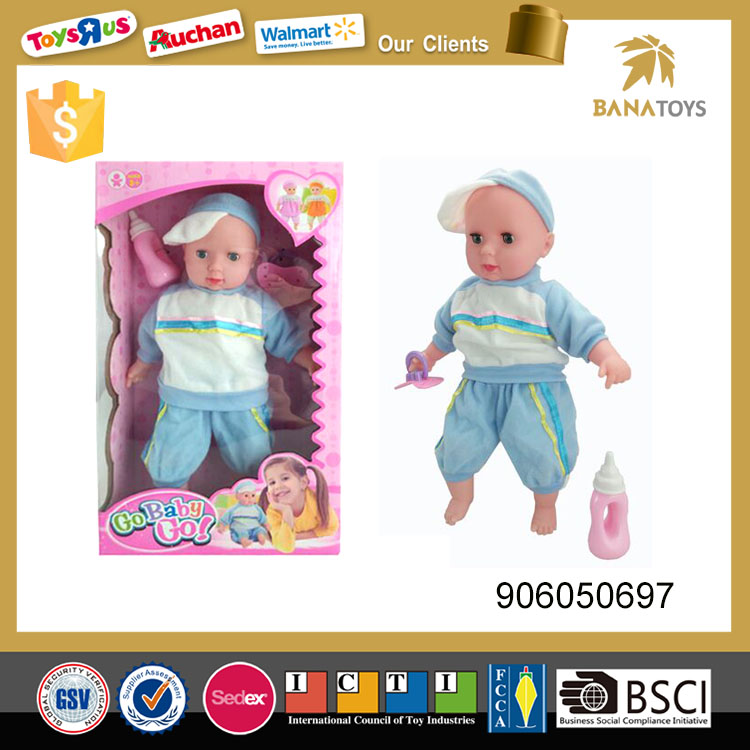 13 inch silicon doll fashion doll toy