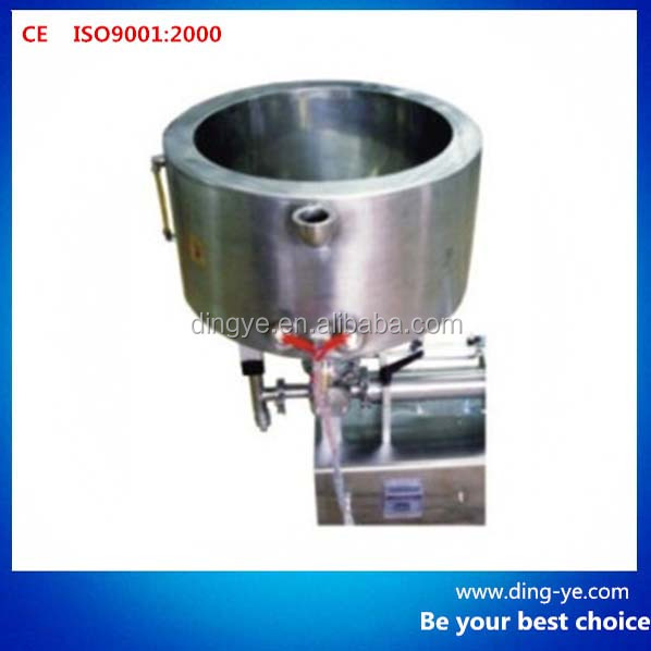 Double jacket heating hopper (filling machine )