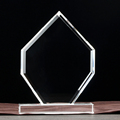 optical blank crystal awards and trophies for sell