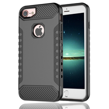 PC TPU Shockproof anti-shock armor phone case for iPhone 7