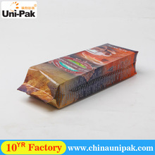 Factory Price OEM Side Gusset Packing 500g arabica coffee bag