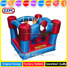 ZZPL Mini Spider Inflatable Jumper For Kids, kids Indoor bounce house For Sale