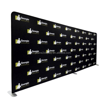 10ft water proof trade show backdrop tension fabric display
