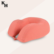 Traveling airplane neck support memory foam pillow