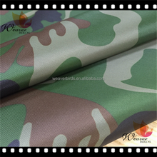 210d polyester waterproof tear resistance army use camo print oxford fabric