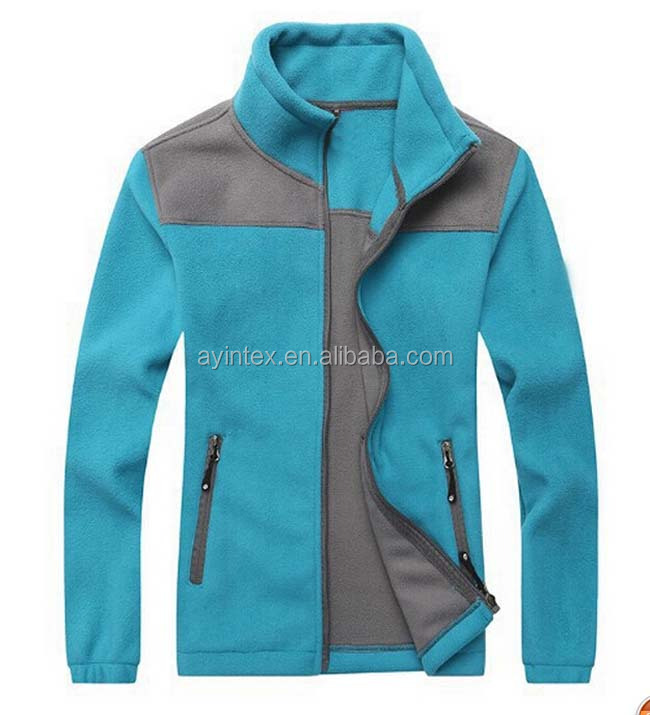 Customized dry fit fleece jacket