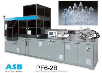 Nissie ASB PF6 - 2B Agricultural Chemical Bottles Molding Machine