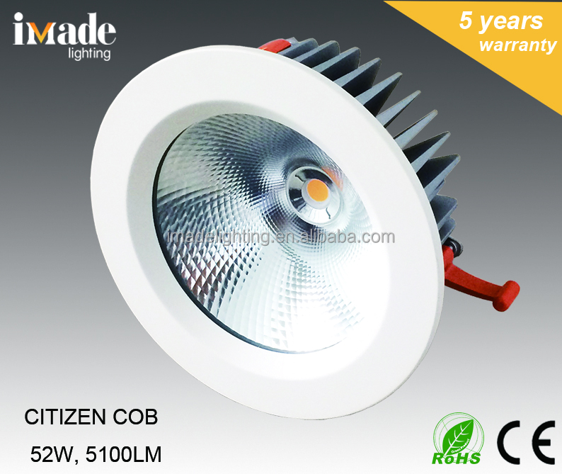 IP65 Rating COB LED Downlight 50W