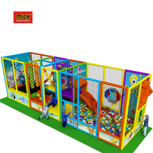 7.7X2.2X2.5M Newest Funny Low Price Indoor Playground Oem Tuv Certified Naughty Fort