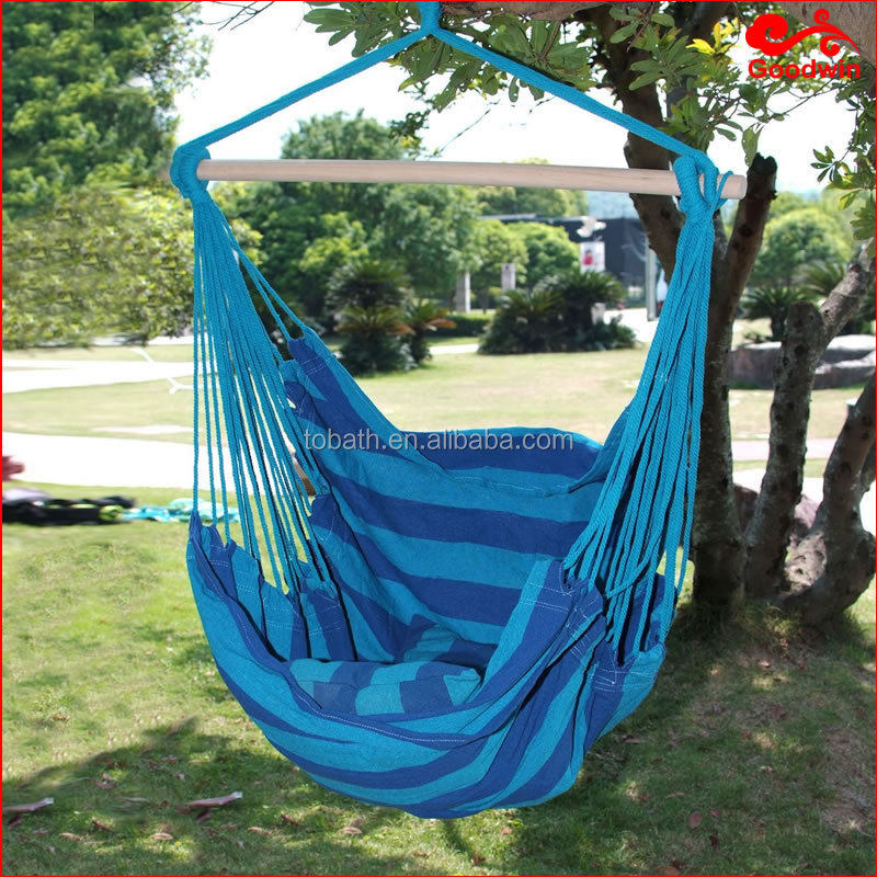 Hammock hanging chair swing outdoor indoor rope chair blue buy hammock chair swing chair - Choosing a hammock chair for your backyard ...