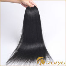 100% raw unprocessed remy human hair weave yaki straight