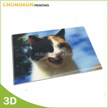 2015 chinese manufacture 3d Lenticular animal pictures, animal photo