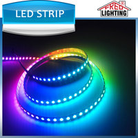 2016 most popular ws2812 5VDC pixel 30/60/72/144 digital led strip