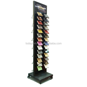 Good quality ceramic granite and marble tile display stand