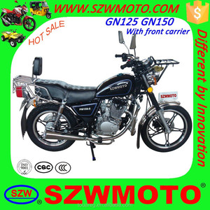 HOT SALE in africa economy GN49 GN125 GN150 SL125-5 HJ125-8 street motorcycle with front carrier