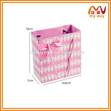 Hot cheap printed shopping bag paper carrier bag from china factory