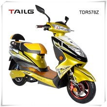 China's strong steel frame 800W 60V men/women electric motorcycle for sale TDR578Z