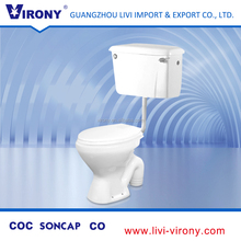 Price best selling two piece ceramic double flush toilet