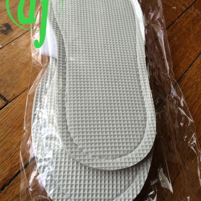 Korea comfortable hotel slippers for spa /beaded shoe beaded slipper