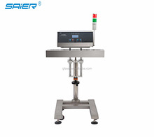 Auto induction cap sealer for medical bottling line