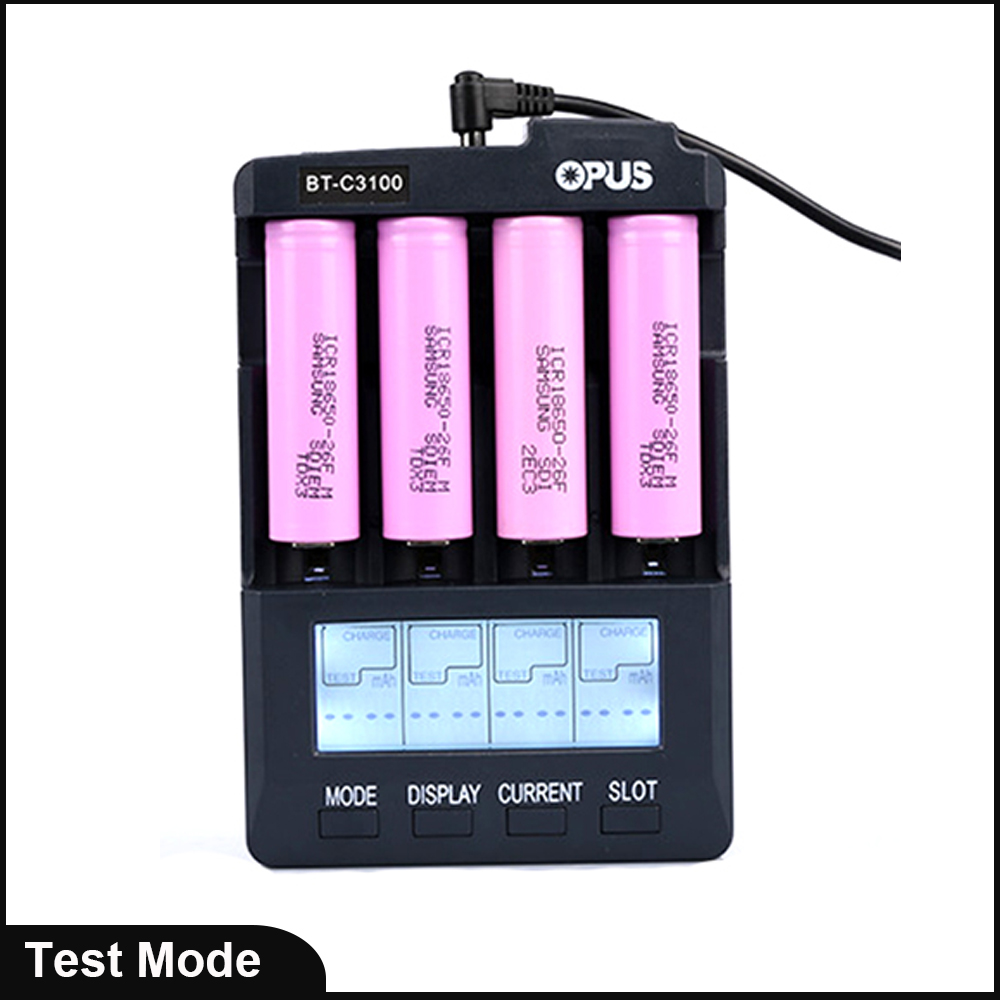 Professional smart camera battery charger