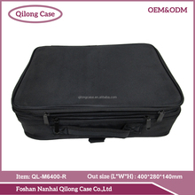 professional hairdresser carrying case portable nylon fabric cosmetic case