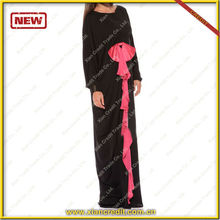 attracted price 2014 new islamic abaya designs dubai abaya wholesale prom dress black abaya KDT512