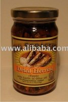 Dried Herring With Garlic In Olive Oil