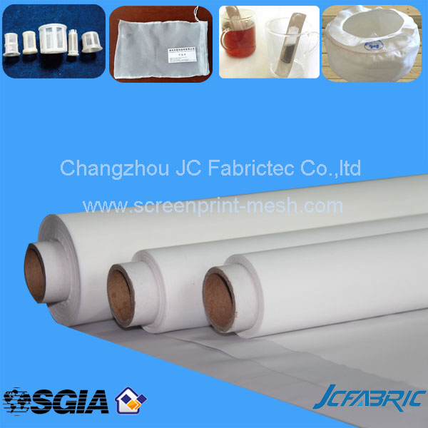 Micro Polyester white cone filter mesh