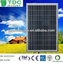high efficiency 100w pv solar panel,pv solar module with TUV,IEC,CE certificate