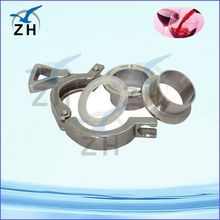 clamp on pipe fittings stainless steel clamp ring