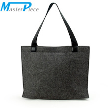 Environmentally Friendly Felt Tote Handbag Shopping Hand Bag