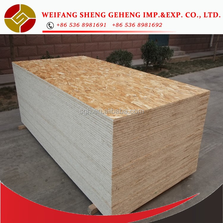 China OSB Board/Chipboard/laminated particle board