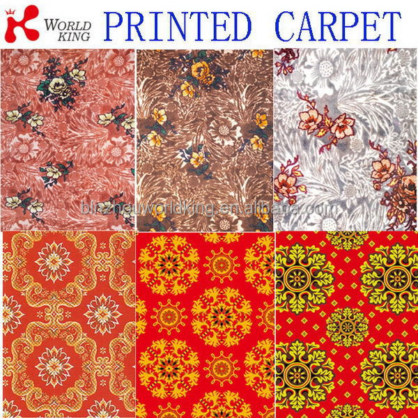 Super quality discount custom printed exhibition carpet