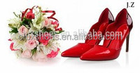OP11 italian brand shoes leather high heel fashion shoes